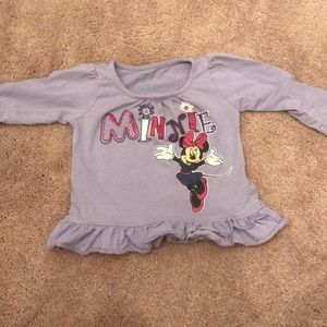 12 month Minnie long sleeve shirt